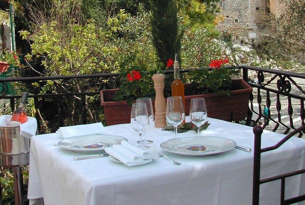 Restaurant Peillon-Village Auberge de la Madone, l'Authentique