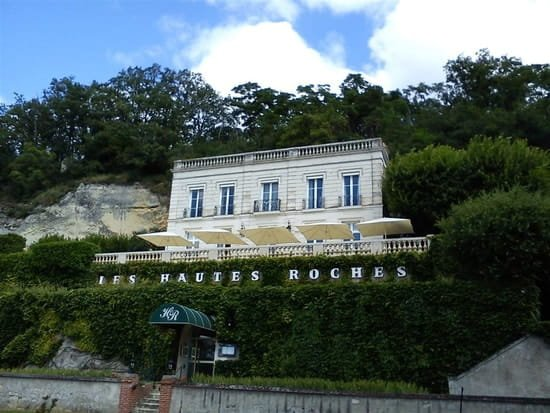 Restaurant Rochecorbon Domaine des Hautes Roches