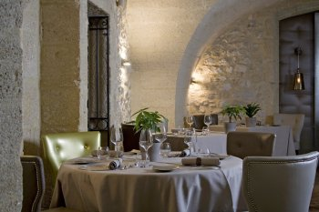 Restaurant Collias Hostellerie le Castellas Prestige