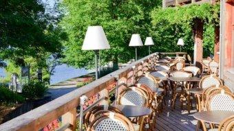 Repas d'entreprise dans un cadre reposant sur l'Ile des Impressionnistes restaurant groupe Chatou 78