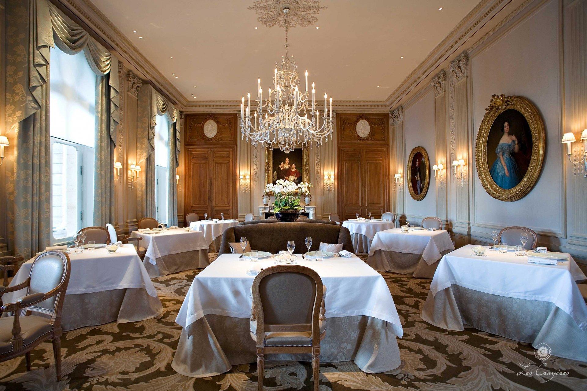 Restaurant Reims Les Crayères