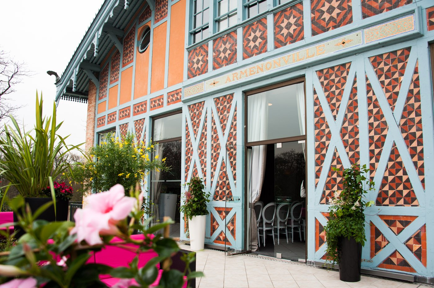 Pavillon d'Armenonville, Butard Enescot