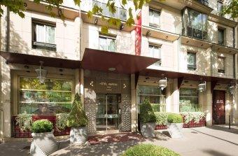 Repas entreprise à deux pas de l'Arc de Triomphe restaurant groupe Paris 17