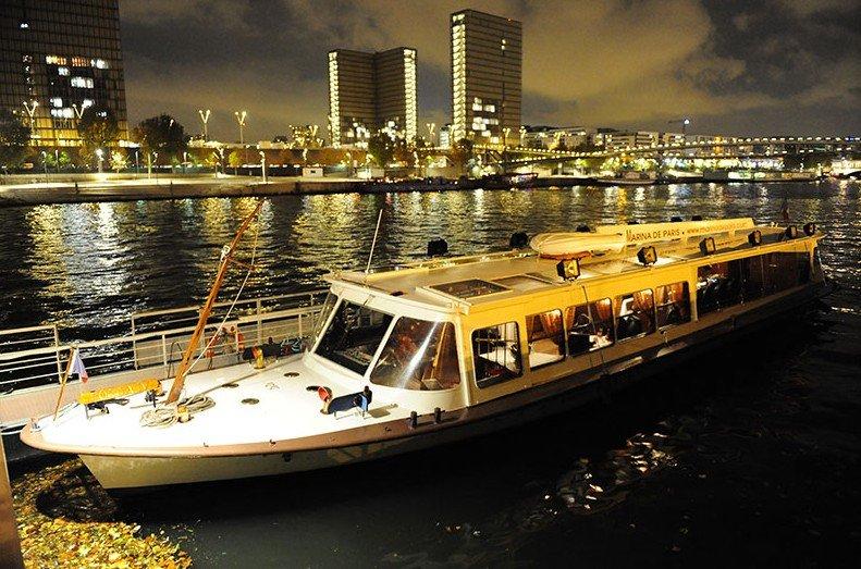 Marina de Paris Déjeuner Menu Orsay