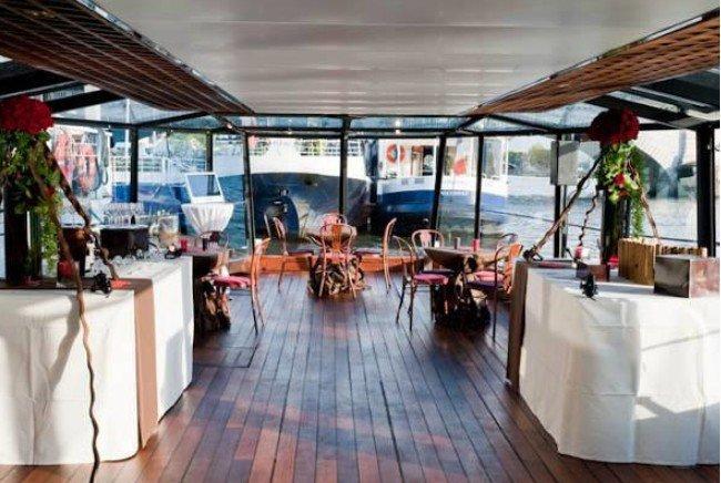 Marina de Paris Diner Menu Découverte