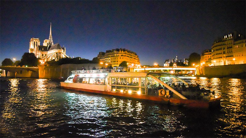 Canauxrama Cruise St Martin Bastille Departure 02:30pm - Adult rate