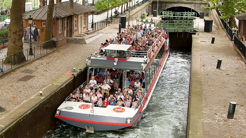 Canauxrama Cruise St Martin Villette Departure 02:45pm - Child rate