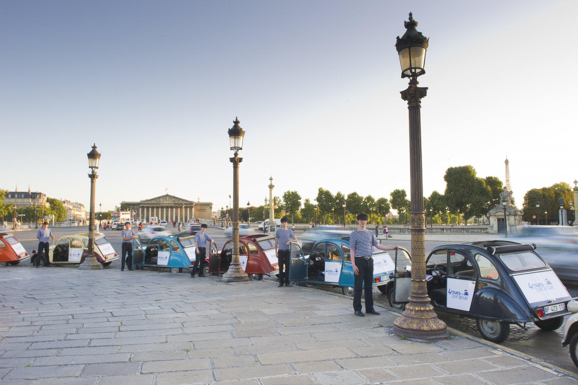 4 Roues sous 1 Parapluie - Rallye 2CV Paris