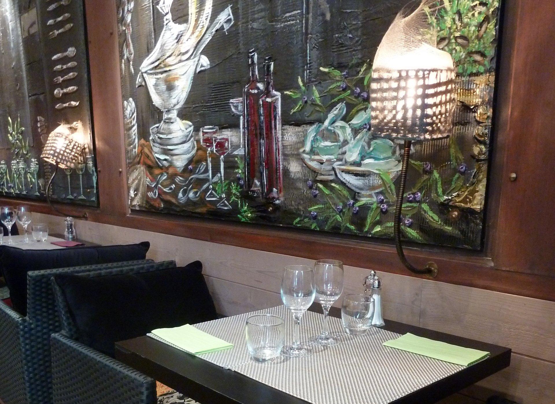 Votre repas entreprise dans un restaurant authentique corse restaurant groupe Paris 8