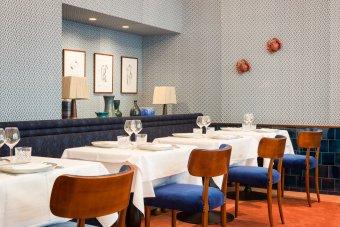 Repas d'entreprise dans une brasserie mythique Parisienne sur la Place des Ternes restaurant groupe PARIS 8 75