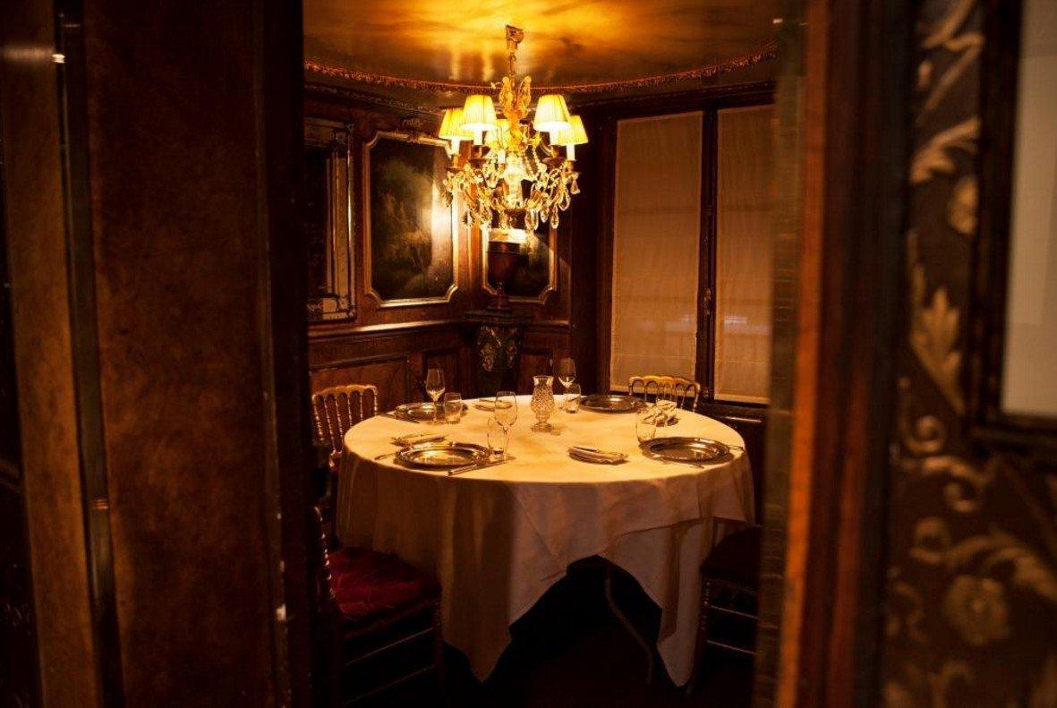Restaurant Paris Lapérouse, Tête-à-tête en Salon Privé