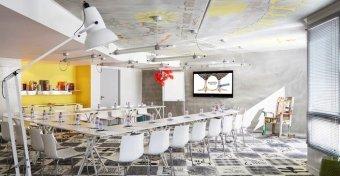Repas entreprise dans un restaurant trendy restaurant groupe MARSEILLE 13