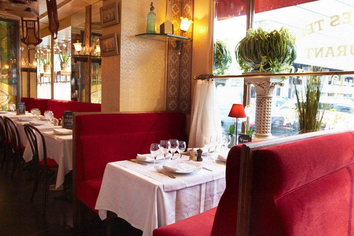 Repas entreprise dans une brasserie chic proche de la Porte Maillot restaurant groupe Paris 17