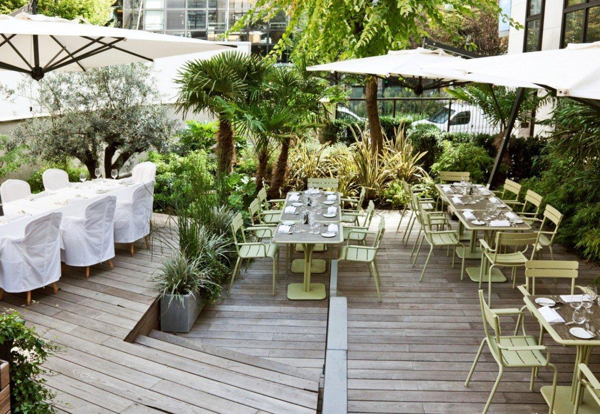 Repas entreprise en salon priv� restaurant groupe Paris 8