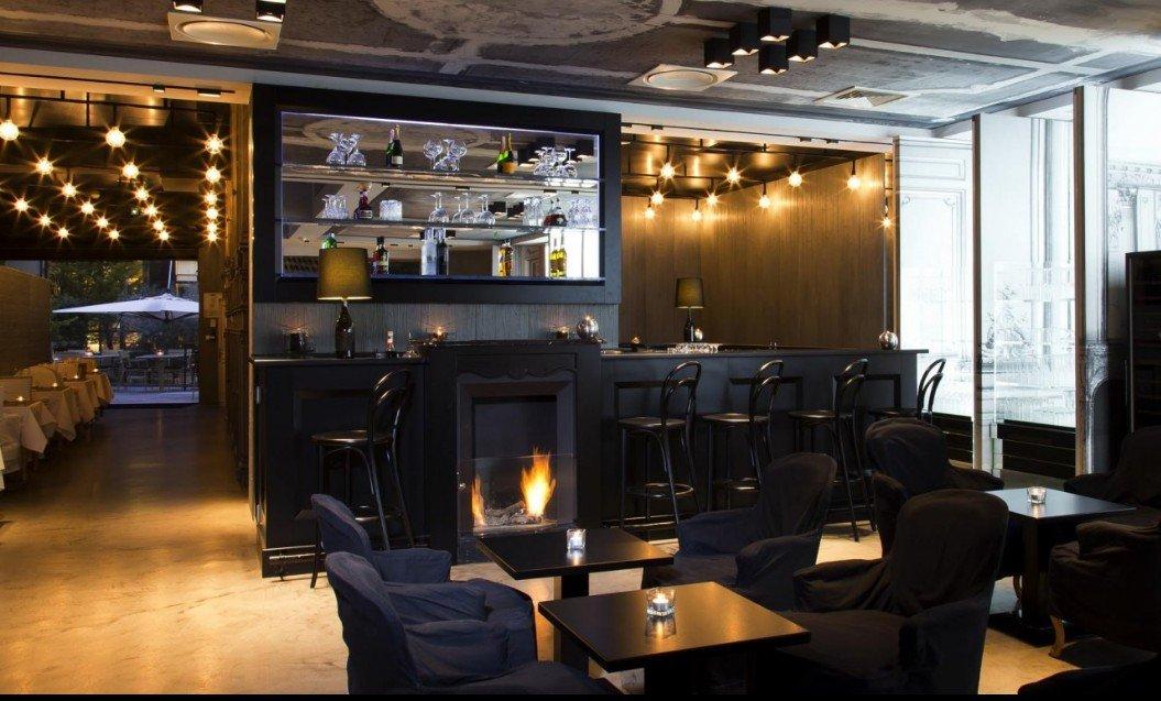 Repas entreprise en salon privé restaurant groupe Paris 8