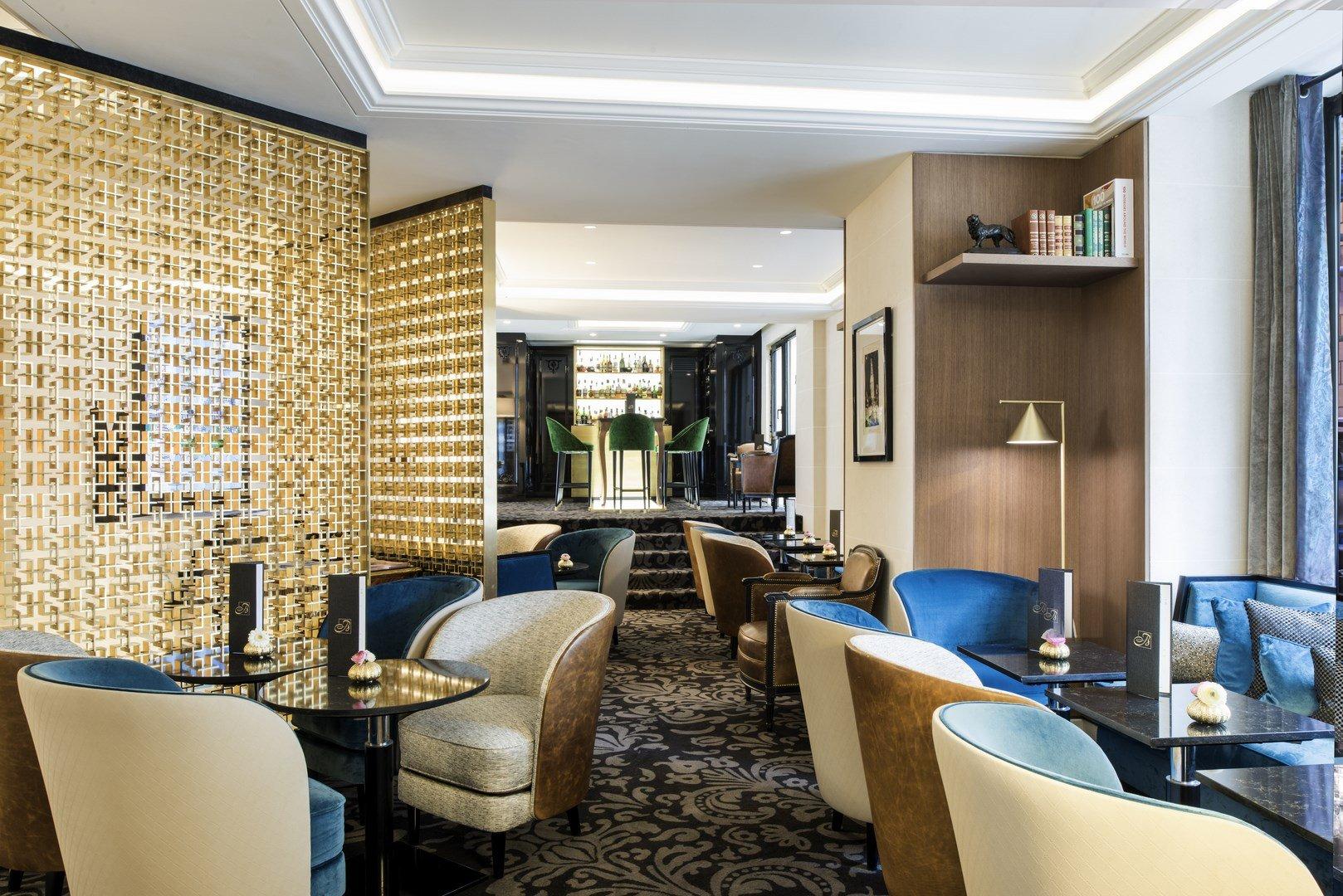 Repas entreprise dans un restaurant réputé proche du Trocadéro restaurant groupe Paris 16