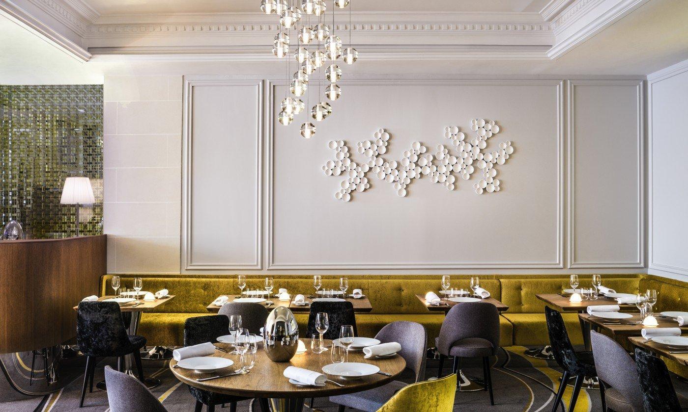 Restaurant Paris Carte Blanche, Sofitel Paris Baltimore Tour Eiffel