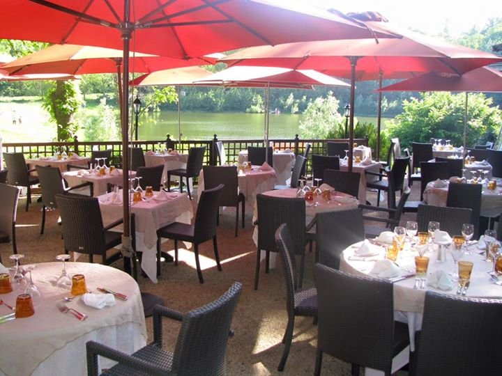 Repas entreprise au bord de l'eau restaurant groupe Meudon 92