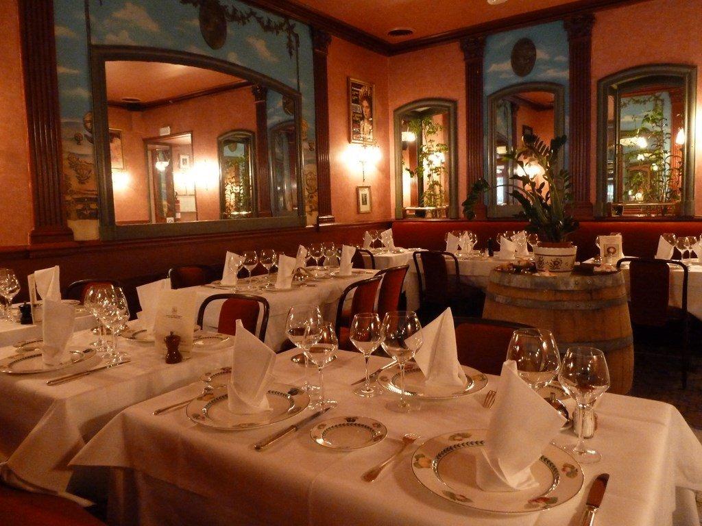 Repas entreprise dans une adresse emblématique Parisienne restaurant groupe Paris 13