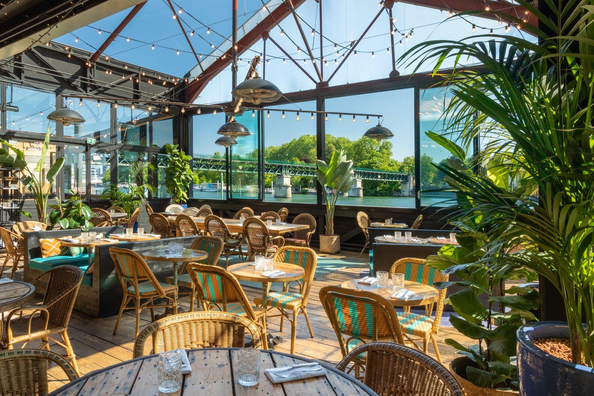 Repas entreprise Restaurant avec vue