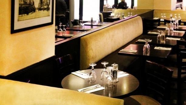 Repas entreprise dans un bistrot traditionnel du 14 ème arrondissement restaurant groupe Paris 14