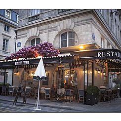 Repas d'entreprise dans un bistrot chaleureux près de Palais Royal restaurant groupe