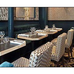 Repas d'entreprise dans un restaurant romantique près de la Porte Maillot restaurant groupe