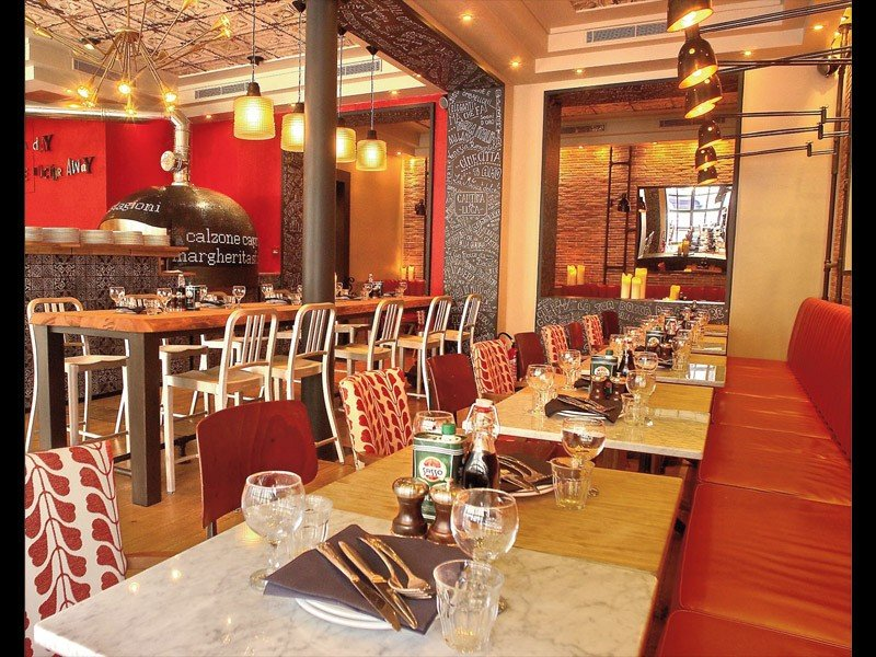 Repas entreprise dans une adresse italienne pr�s des Champs Elys�es restaurant groupe Paris 8
