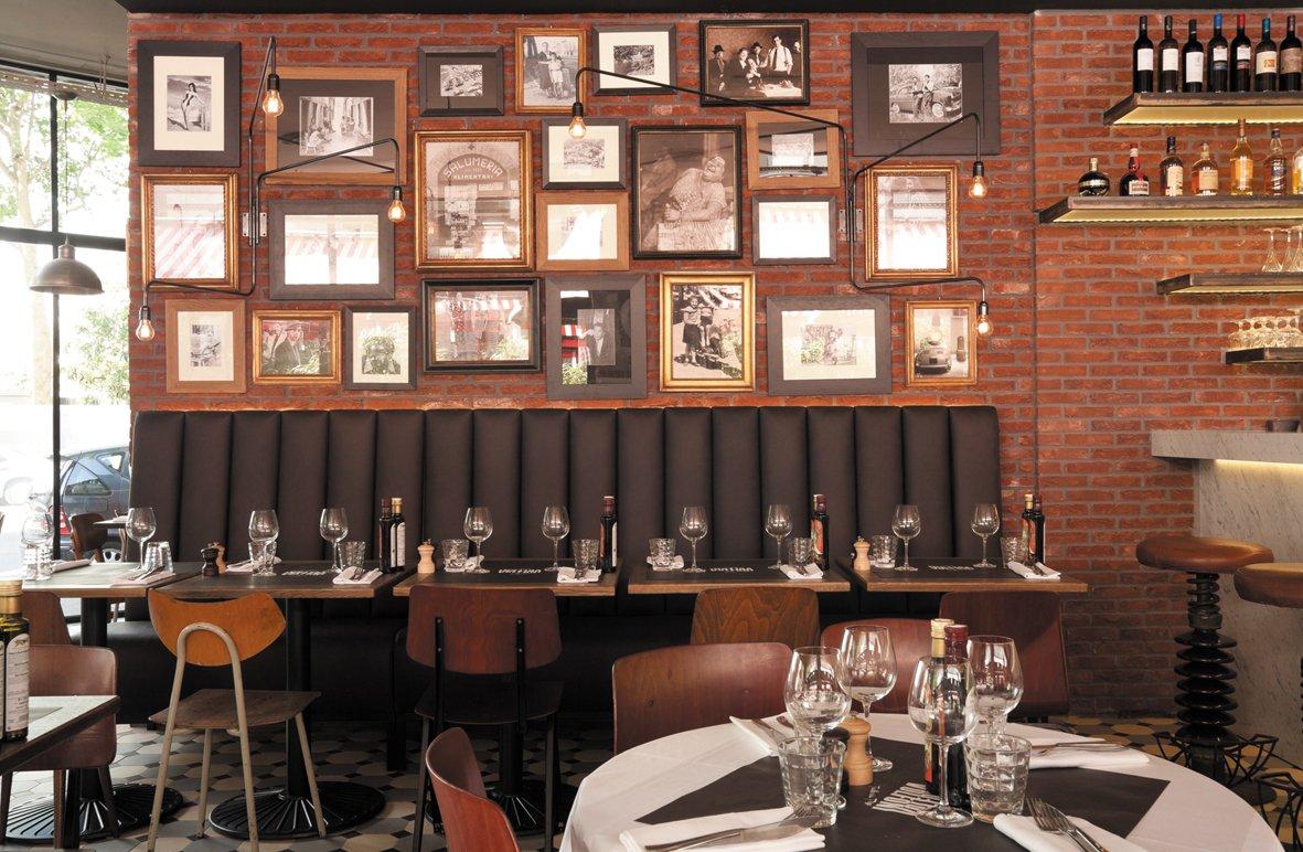 Privatisation d'une trattoria typique des années 50 à Boulogne-Billancourt restaurant groupe BOULOGNE BILLANCOURT 92