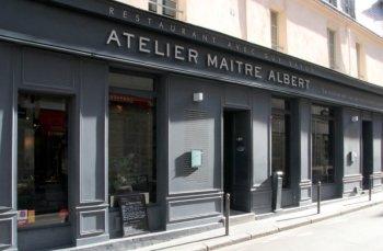 Restaurant Paris Atelier Maitre Albert Déjeuner