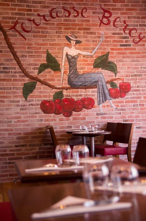 Repas d'entreprise dans une brasserie traditionnelle près de Bercy restaurant groupe Paris 12