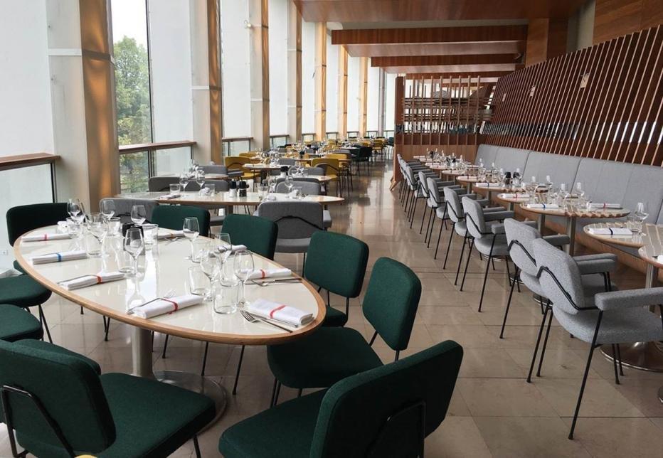 Cocktails dans un lieu confidentiel avec vue panoramique sur Paris restaurant groupe PARIS 16 75