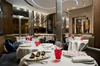 Repas entreprise dans un restaurant spécialisé dans le poisson Place Pereire restaurant groupe Paris 17