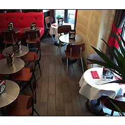 Repas entreprise dans un restaurant traditionnel ambiance cinéma du 1er arrondissement restaurant groupe