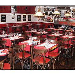Repas entreprise dans une brasserie traditionnelle au coeur du quartier de Chatelet restaurant groupe