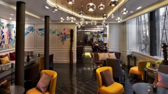 Repas entreprise dans un restaurant branché du quartier Opéra restaurant groupe Paris 9