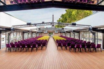 Privatisation d'un espace évènementiel de 800m2 à ciel ouvert à Javel restaurant groupe