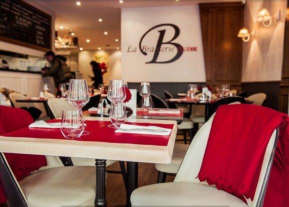Repas entreprise dans une brasserie italienne haut de gamme du 16�me arrondissement restaurant groupe Paris 16