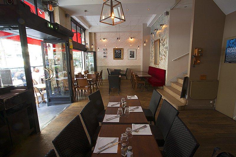 Repas entreprise dans un bistrot moderne Place du Châtelet restaurant groupe PARIS 1 75