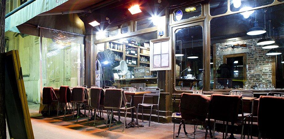 Repas entreprise dans un bistrot au sein du quartier des Batignolles restaurant groupe Paris 17