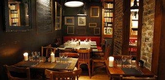 Repas entreprise dans un bistrot au sein du quartier des Batignolles restaurant groupe PARIS 17 75