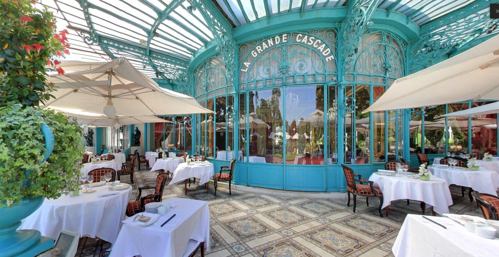 Restaurant Paris La Grande Cascade Privilège