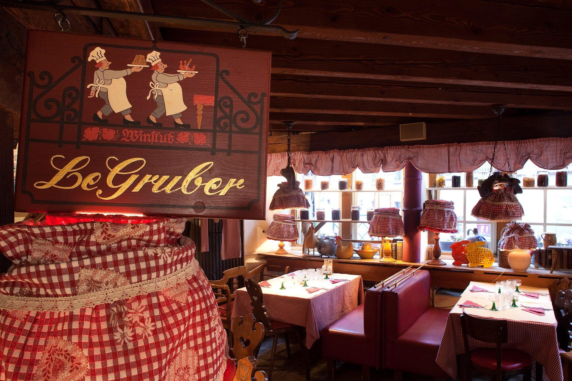 Le gruber strasbourg bas rhin offrir cadeau restaurant for Reso strasbourg