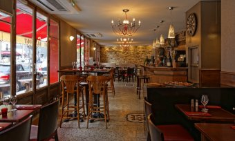 Repas entreprise dans une ambiance branchée et moderne restaurant groupe Paris 16