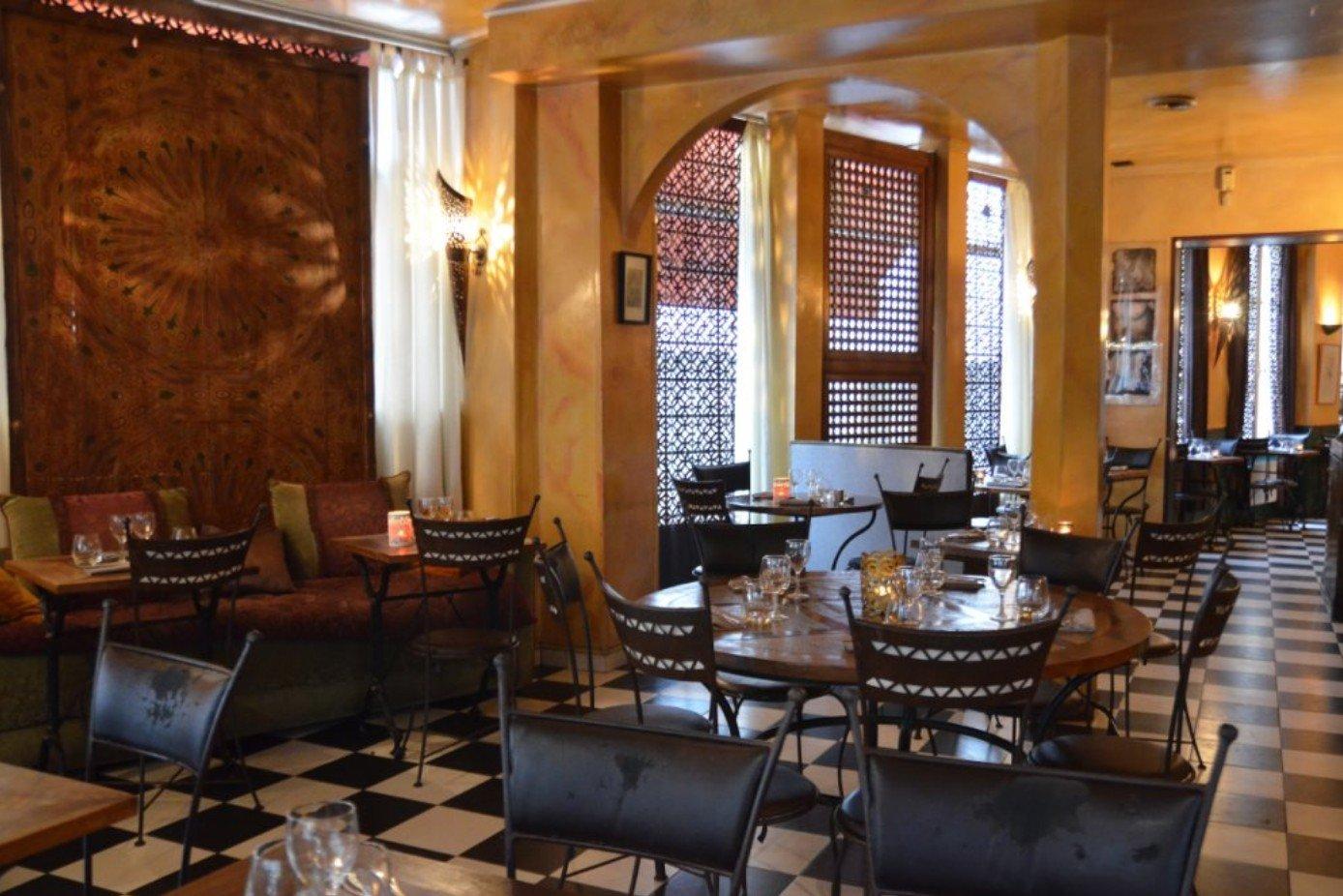 Repas entreprise dans un restaurant Marocain restaurant groupe PARIS 11 75