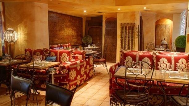 Repas entreprise dans un restaurant Marocain restaurant groupe Paris 11