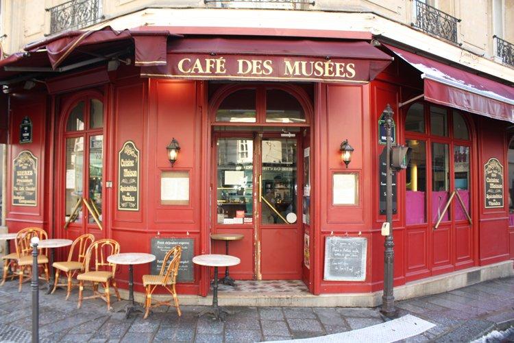 caf des mus es paris paris offrir cadeau restaurant. Black Bedroom Furniture Sets. Home Design Ideas