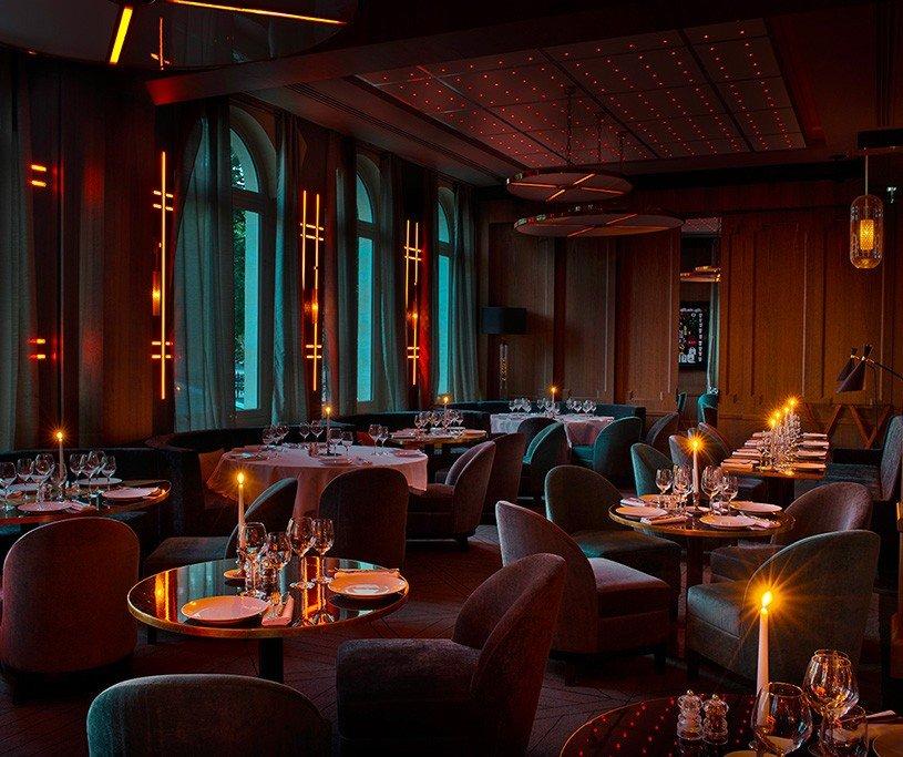 Repas entreprise dans un élégant restaurant du VIème arrondissement restaurant groupe Paris 16