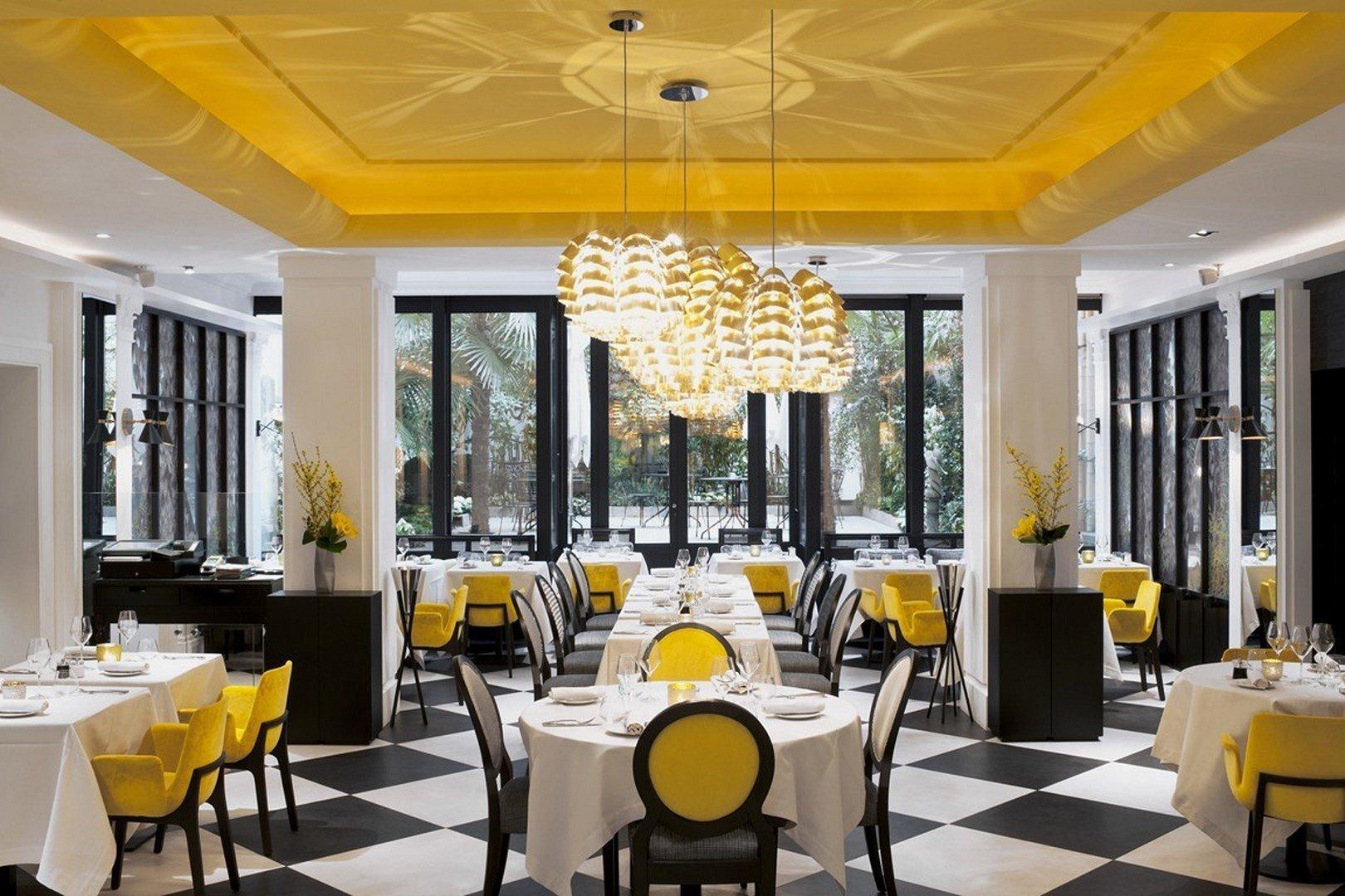 D�ner d'entreprise avec une carte sign�e par un Chef trois �toiles restaurant groupe Paris 8