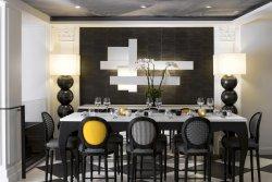 Dîner d'entreprise avec une carte signée par un Chef trois étoiles restaurant groupe Paris 8